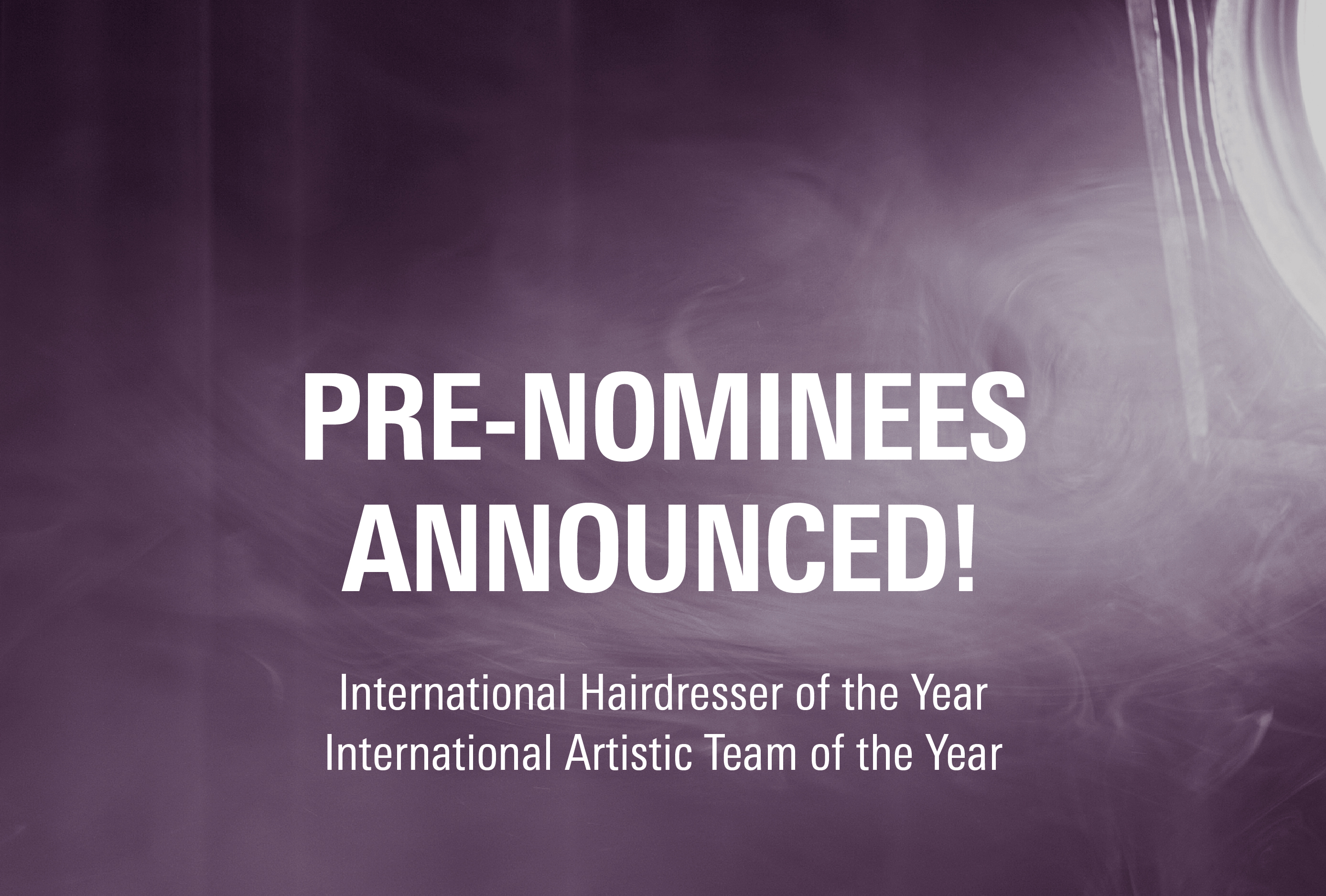 Pre-nominees announced!
