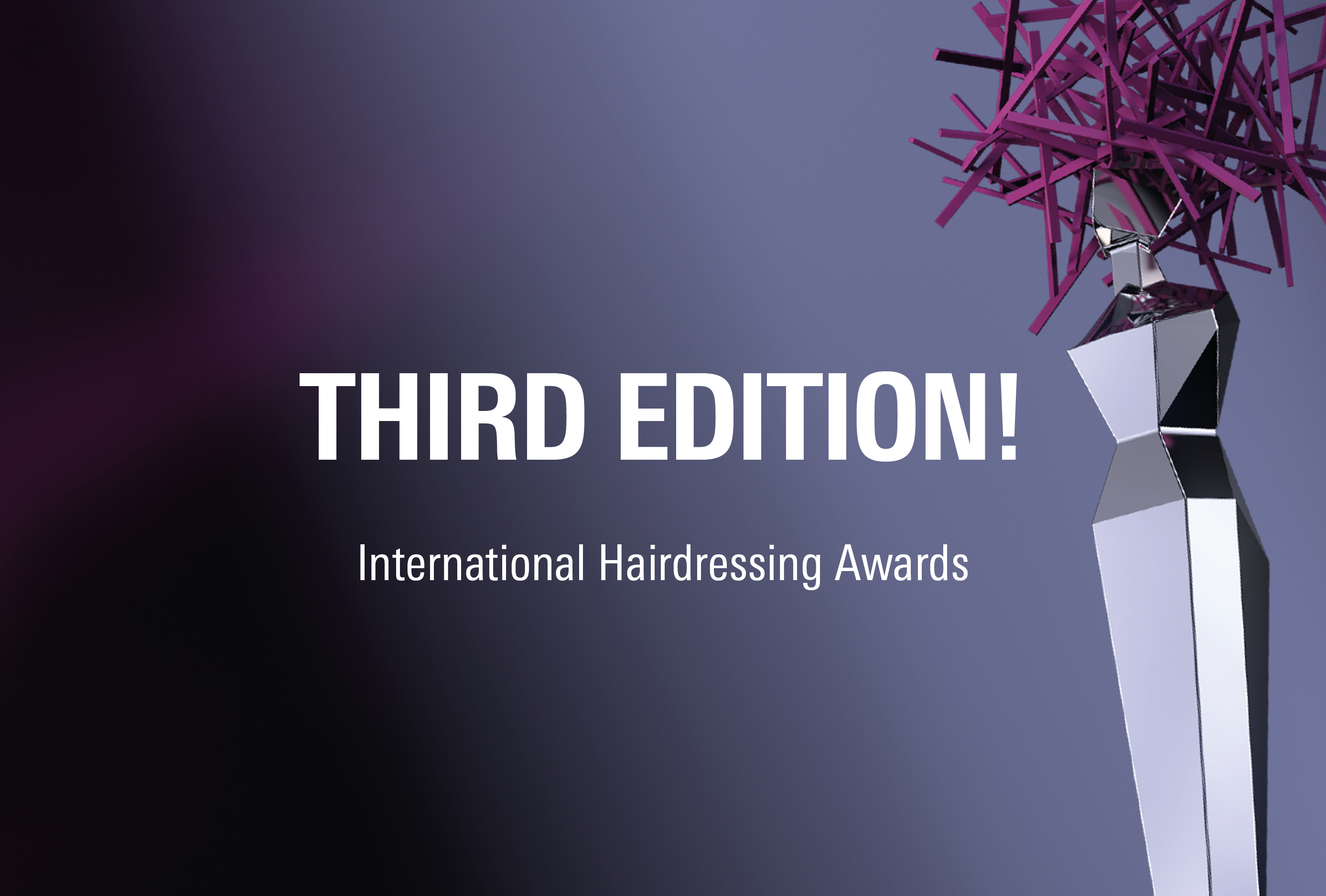 The International Hairdressing Awards announce their third edition with important news