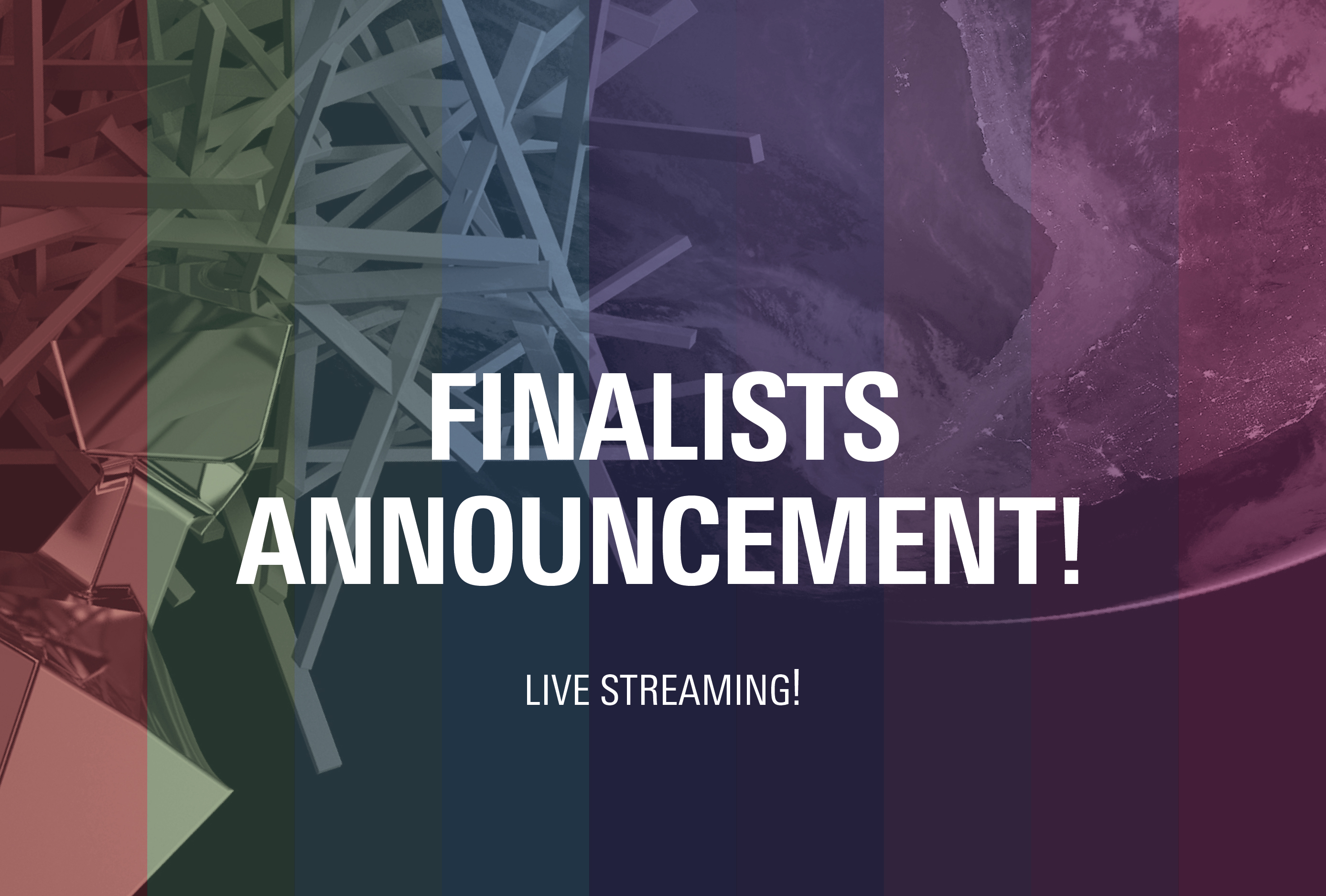 Finalists' announcement!
